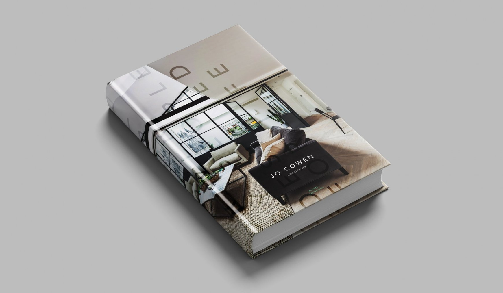 Concept for Jo Cowen Architects print work and book