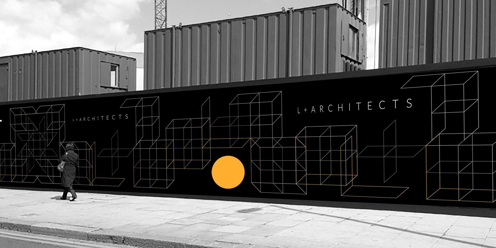 Branding and Digital work for L+Architects